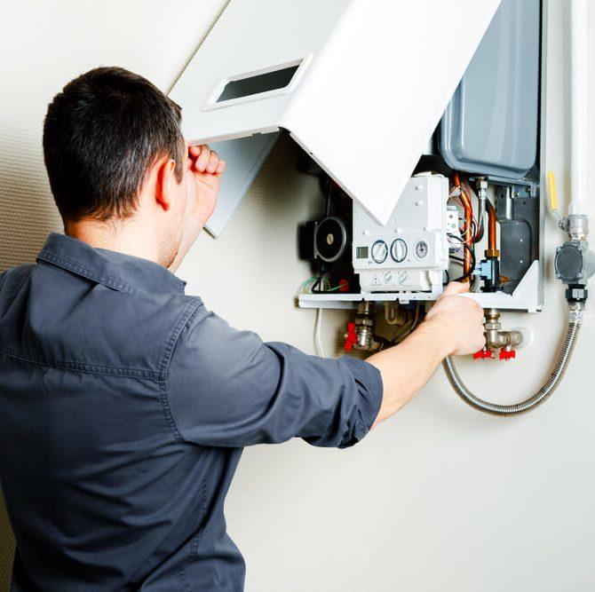 installation chaudière eau gaz